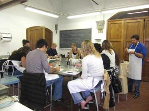 The Pairing Food & Wine classroom